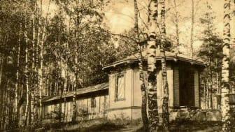 Kägelbanan på Kyrkberget i Lindesberg som den såg ut en gång i tiden...