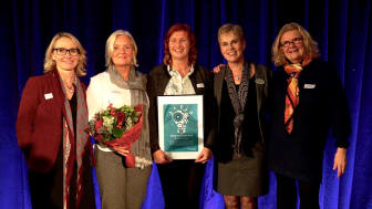 Bild från prisutdelningen 2016 då Remeokliniken blev Årets innovatör