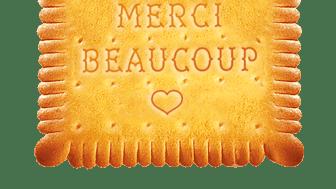 """Edition """"Merci Beaucoup"""" du Véritable Petit Beurre de LU"""