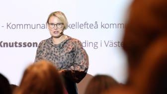 Skellefteås kommunalråd Evelina Fahlesson betonade vikten av att skapa mod och kliva ur det traditionella.