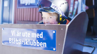 På tur med Blåbärsklubber Orsa Grönklitt