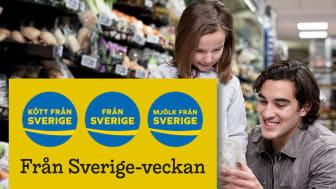 """""""Handla utmärkt!"""" är temat för Från Sverige-veckan den 3-11 oktober. Från Sverige-märkta råvaror, livsmedel och växter skyltas upp i butiker över hela Sverige."""
