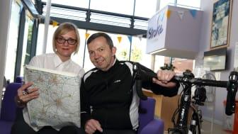 Redditch stroke survivor marks a milestone with solo trip