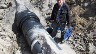 Ny SVU-rapport 2015-24: Underlag för val av material i kontakt med dricksvatten (dricksvatten, rörnät)