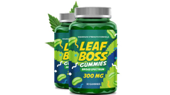 Leaf Boss CBD Gummies Reviews: Shocking Price [$6.97], Website and Side Effects