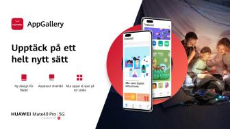 Huawei lanserar nytt gränssnitt i AppGallery för bättre användarupplevelse