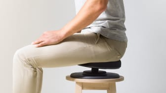 Posture balanssits ger dig en ergonomisk arbetsställning.