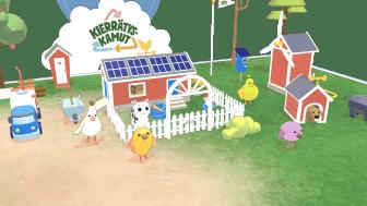 Arla ja UPM hyppäsivät lisättyyn todellisuuteen Roni Backin kanssa  – tavoitteena edistää lapsiperheiden kiertotaloustaitoja Kierrätyskamut-pelin avulla