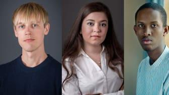 Arnfinn Midtbøen, Nancy Herz og  Abdirahman Hassan stiller i debatt om ytringsfrihet på Deichman Tøyen tirsdag kveld.