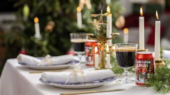 Apotekarnes Julmust är favoritdrycken på julbordet