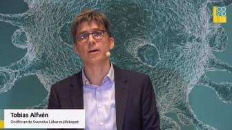 Tobias Alfvén ordförande i Svenska Läkaresällskapet