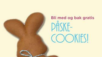 SiO inviterer studenter til å bake påske-cookies på Deiglig i underetasjen på Frederikkebygget på Blindern den 14. mars kl. 14-17.