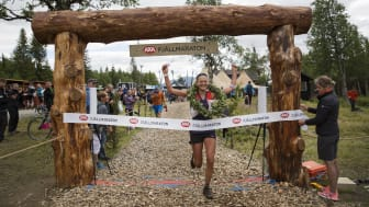 35-åringen Ida Nilsson har haft ett fantastiskt tävlingsår. I år slog hon banrekordet i Axa Fjällmaraton med 14 minuter.