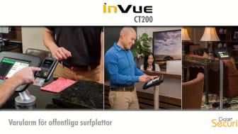 InVue CT200: Stöldsäkra din offentliga surfplatta som informations- och betalningsstation