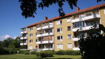 Helsingborgshem och Peab bygger om lägenheter på Elineberg i Helsingborg