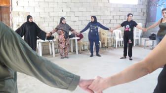 Clowner utan Gränser beviljas stöd för freds- och jämställdhetsprojekt i Mellanöstern