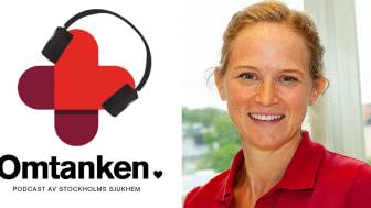Fysioterapeut Nanna Forsmarker berättar hur rehabiliteringen av covid-19-patienter går till i podden Omtanken.