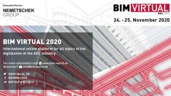 Strong Nemetschek Group presence at the BIM Virtual 2020