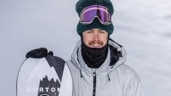 Niklas Mattsson redo för Slopestylefinal i Laax Open