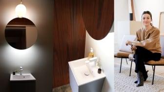 Iconic by Cecilia Blankens - Gästbadrummen från 60-talet fick nytt liv!