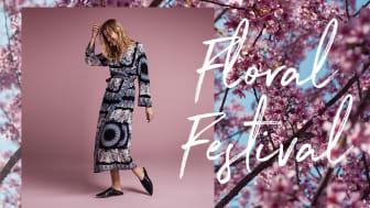 Blomstrande vår hos Indiska med nya kollektionen Floral Festival