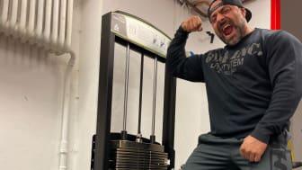 Ashkan Aghili om Gymlecos Vadpress maskin: Mina vader har växt 1,5 cm på 5 månader