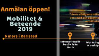 Att bryta bilen som norm - Anmälan öppen till Gröna Bilisters konferens Mobilitet & Beteende 2019!