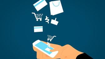 Geschäfte am Bildschirm