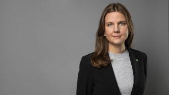 Elin Olsson, statssekreterare hos jämställdhets- och bostadsminister Märta Stenevi (Foto: Kristian Pohl/Regeringskansliet)
