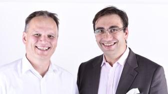 FPZ Geschäftsführer Dr. Frank Schifferdecker-Hoch mit Zukunftsforscher Sven Gábor Jánszky