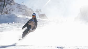 Auch in diesem Jahr können alle Teilnehmer die neusten Materialien für den Winter beim SportScheck GletscherTestival ausgiebig testen.