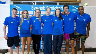 Svenska Simidrott välkomnar till pressträff inför Sim-EM i Israel