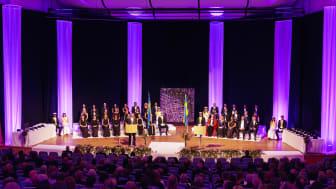 Bild från Jönköping Universitys Akademiska högtid 2019