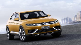 Volkswagen CrossBlue Coupe makes debut at Shanghai Show