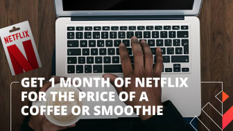Discovery Vitality is excited to announce a timeous new reward for members – a month of Netflix for the cost of a coffee or smoothie