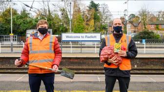 GTR-Groundwork planting partnership starts at Radlett station