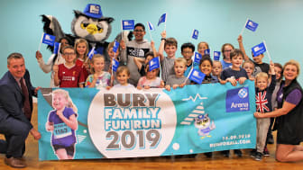Come on Bury, let's get together for the family fun run!