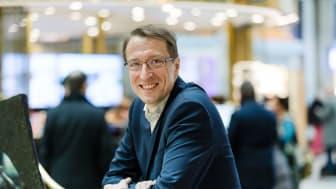 Jörgen Hultmark, Forsens samverkansexpert, i panelen på Business Arena, Almedalen.