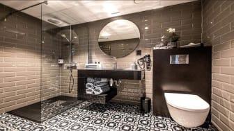 Cosentino og Aardal Quality Hotel Grand Royal i Narvik har allerede oppgradert flere bad med nye kjempefliser utviklet av Cosentino og servantleverandøren Aardal.