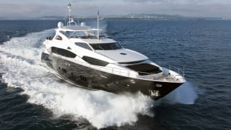 The 34m Sunseeker Black and White has been sold