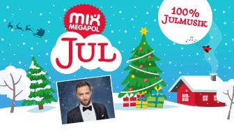 Det blir Måns Zelmerlöw som tänder ljuset i Mix Megapol-studion i år.