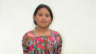 Irma, 12 år från Guatemala