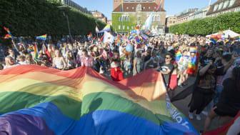 Borås Prideparad hittar nya vägar