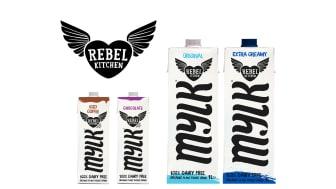 Rebel Kitchen relanserer sin serie med plantebaserte drikker