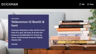 På deichman.no er det enkelt å bestille bøker man vil låne. Foto: Eirik Hjeldnes Kjellsen / Deichman