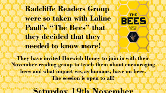 Fancy a talk about the words and the bees??