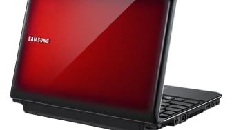 Samsungs snabbstartade netbook har lattesäkrat tangentbord