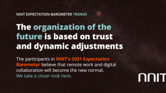 NNIT Expectation Barometer on the future digital workplace