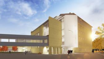 Byggstart för nytt Medicinskt Biologiskt Centrum i Umeå