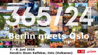 Berlin meets Oslo - 7. & 8.06.2016 @ Hendix Ibsen Kaffebar